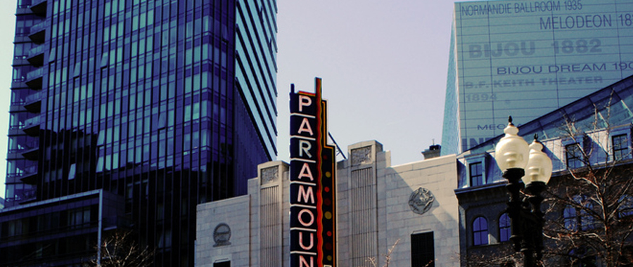 EMERSON COLLEGE PARAMOUNT CENTER – BOSTON, MA