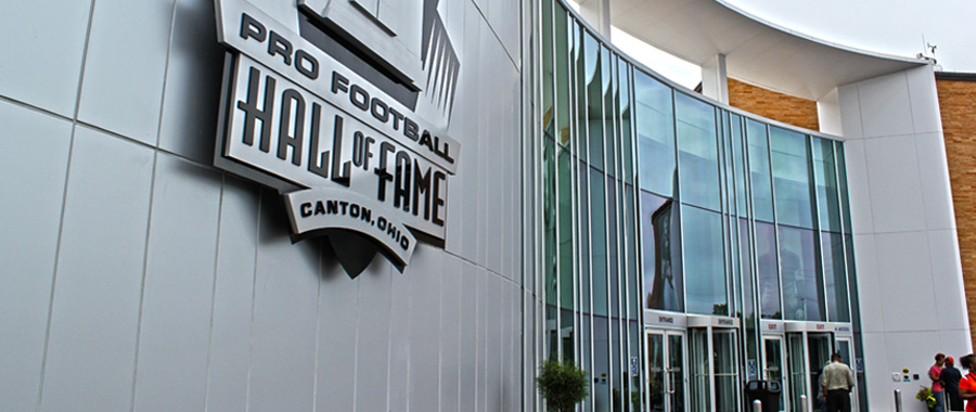 FOOTBALL HALL OF FAME – CANTON, OH