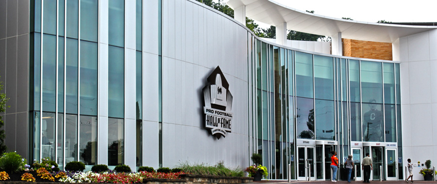 FOOTBALL HALL OF FAME – CANTON, OH